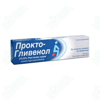 ПРОКТО-ГЛИВЕНОЛ КРЕМ 30ГР