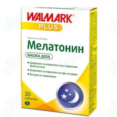 МЕЛАТОНИН ТАБЛ. 3МГ Х 30 W