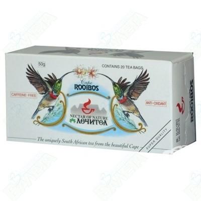 ЧАЙ Ройбос 50гр х 20ф. ЛЕЧИТЕЛ