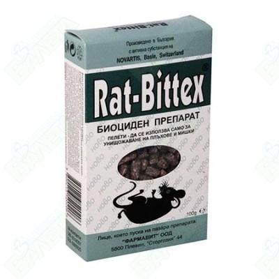 Rat-Bitex / РАТ-БИТЕКС отрова зелен 100 г
