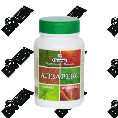 Charak Alsarex / АЛЗАРЕКС ТАБЛЕТКИ Х 60