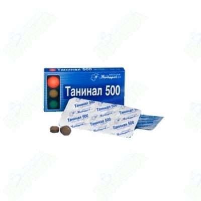 ТАНИНАЛ табл.500 мг. х 20