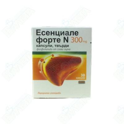 ЕСЕНЦИАЛЕ ФОРТЕ N КАПСУЛИ 300 мг X 30
