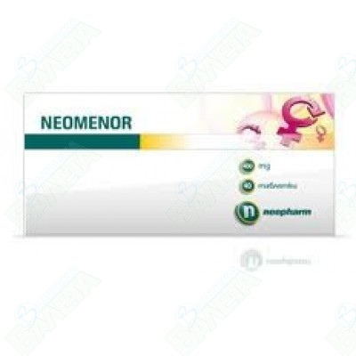 НЕОМЕНОР ТАБЛЕТКИ 400 мг Х 40