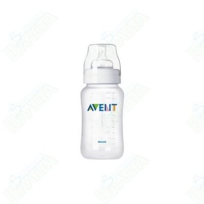 АВЕНТ-ШИШЕ 330мл.BPA-free PP + БИБЕРОН с прорез /3м+/
