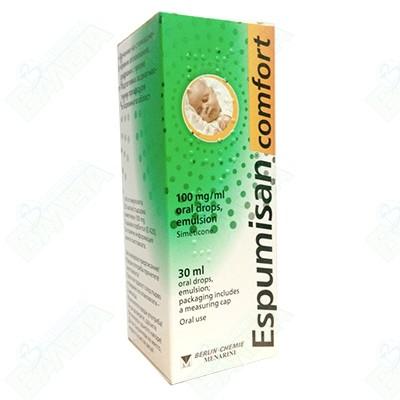 ЕСПУМИЗАН COMFORT 100 мг/мл 30 мл