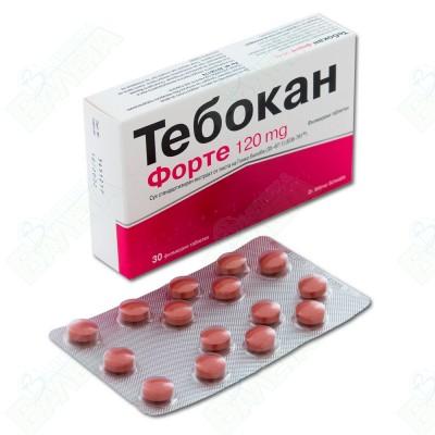 ТЕБОКАН ФОРТЕ 120МГ