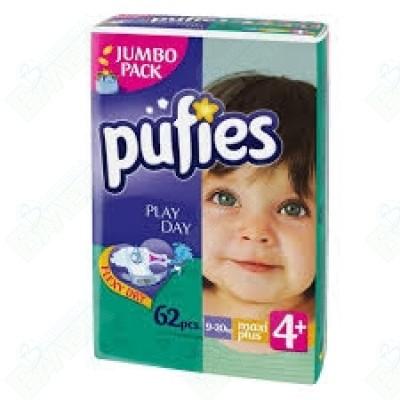ПАМПЕРС PUFIES №4 X64
