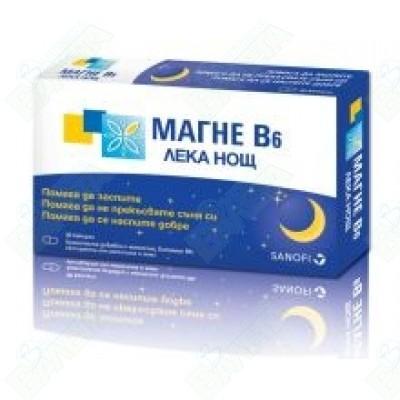 МАГНЕ Б6 ЛЕКА НОЩ Х 30 КАПСУЛИ