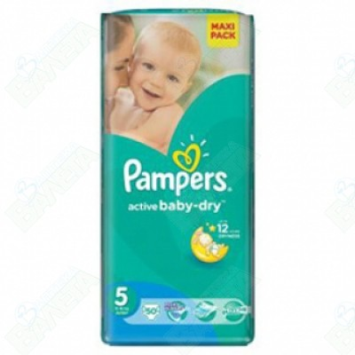 ПАМПЕРС PAMPERS 5 ДЖУНИЪР Х 50