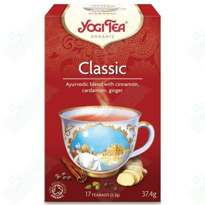 ЧАЙ КЛАСИК YOGI TEA