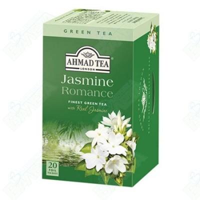 AHMAD TEA / АХМАД ЗЕЛЕН ЧАЙ ЖАСМИН  филтър x 20