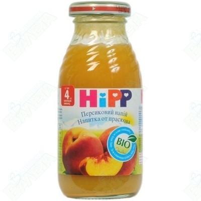 HIPP / ХИП НАПИТКА ОТ ПРАСКОВИ 200 мл