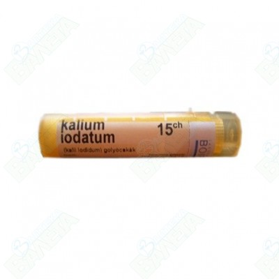 Boiron Kalium iodatum  / КАЛИУМ ЙОДАТУМ 15 CH