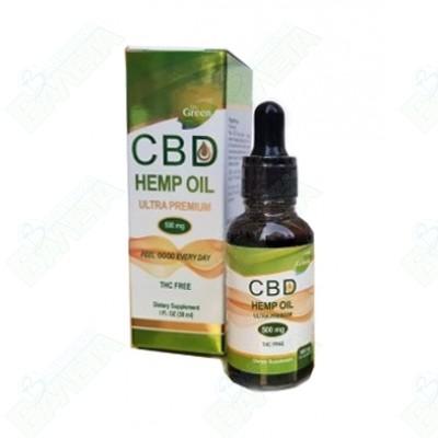 CBD Hemp Oil / СИ БИ ДИ ОЙЛ /КАНАБИДИОЛ/ 500 мг Х 30 мл