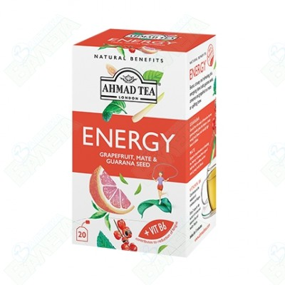 AHMAD TEA ENERGY / АХМАД ЧАЙ ЕНЕРГИЯ ФИЛТЪР