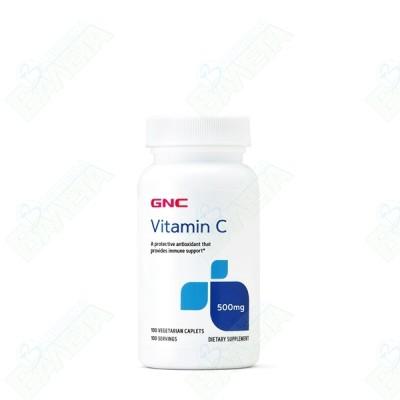 GNС ВИТАМИН C + ШИПКА каплети 500 мг х 100