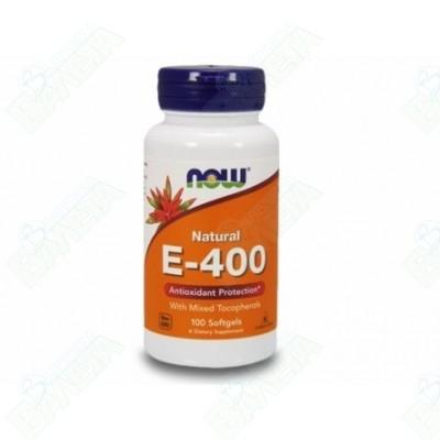 Now Foods Витамин E-400 IU MT х100