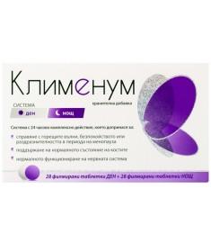 КЛИМЕНУМ Система Ден и Нощ при менопауза х28+28 таблетки