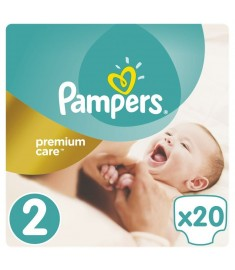 ПАМПЕРС N2 PREMIUM CARE 3-6 KG. х 20