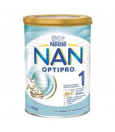 НАН 1 адаптирано мляко 400 г НОВ