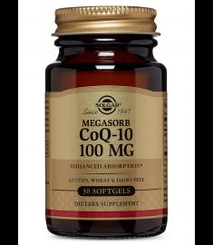 СОЛГАР КОЕНЗИМ  Q10 Megasorb 100 mg Х 30 КАПС