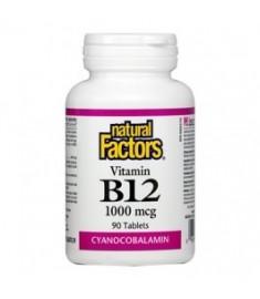 ВИТАМИН Б12 Х 90 ТБ NATURAL FACTORS