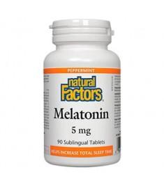 МЕЛАТОНИН 5 мг х 90 NATURAL FACTORS