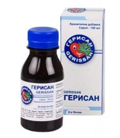 ГЕРИСАН СИРОП С ВКУС НА ЧЕРЕША 100МЛ