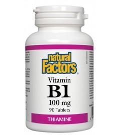 ВИТАМИН Б1 100МГ X 90ТАБЛ NATURAL FACTORS