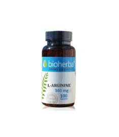 Bioherba / БИОХЕРБА Л-АРГИНИН 560 мг КАПСУЛИ Х 100
