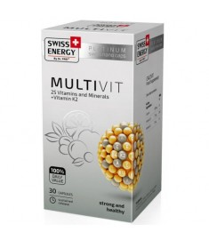 SWISS ENERGY MULTIVIT / СУИС ЕНЕРДЖИ МУЛТИВИТ КАПСУЛИ х 30