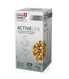 Swiss Energy ACTIVE LIFE / СУИС ЕНЕРДЖИ АКТИВ ЛАЙФ КАПСУЛИ x 30