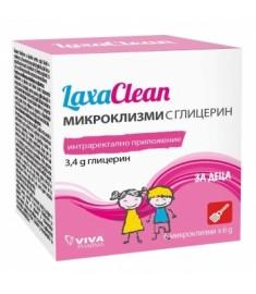 LAXACLEAN / ЛАКСАКЛИЙН МИКРОКЛИЗМИ ЗА ДЕЦА х 6