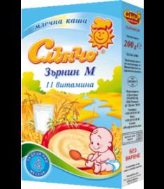 СЛЪНЧО ДЕТСКА КАША ЗЪРНИН-М