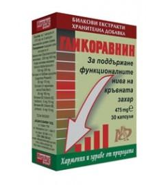 ГЛИКОРАВНИН капсули 475 мг х 30