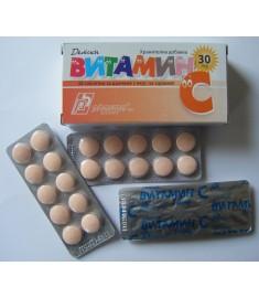 ВИТАМИН-C ДЕТСКИ ДЪВКА таблетки 30 мг Х 30
