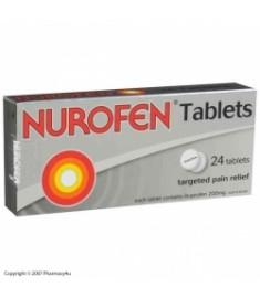 НУРОФЕН таблетки 200 мг х 24