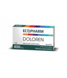 DOLOREN / ДОЛОРЕН таблетки 400 мг х 12