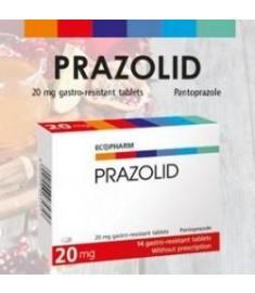 ПРАЗОЛИД ТАБЛЕТКИ 20 мг Х 14