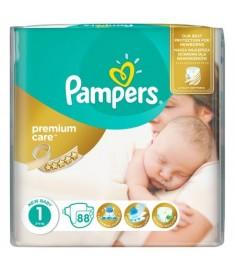 ПАМПЕРС PREMIUM CARE №1 2 - 5 кг х 88