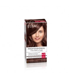 ELEA Professional Colour & Care / ЕЛЕА Боя за коса Кадифено кафяв 4.37