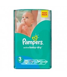 ПАМПЕРС PAMPERS 3 МИДИ Х 68
