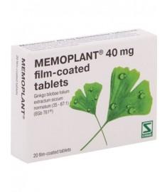 МЕМОПЛАНТ ФИЛМИРАНИ ТАБЛЕТКИ 40 мг Х 20