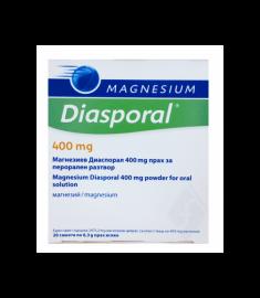 MAGNESIUM ДИАСПОРАЛ сашета 400 мг х 20