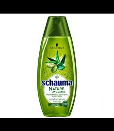 Schauma / ШАУМА ШАМПОАН ПРОТИВ ЦЪФТЯЩИ КРАИЩА с масло от маслина и алое вера 400 мл