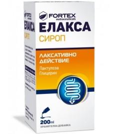 ЕЛАКСА СИРОП 200 мл
