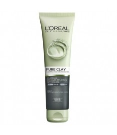 ЛОРЕАЛ PURE CLAY Illuminating Cleansing Gel / ПОЧИСТВАЩ ГЕЛ ЗА ЛИЦЕ 150 мл