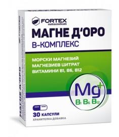 МАГНЕ Д'ОРО В-КОМПЛЕКС КАПСУЛИ Х 30