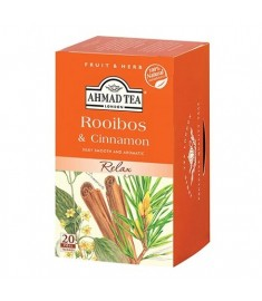 Ahmad Tea Roobois and Cinnamon / АХМАД ЧАЙ РОЙБОС И КАНЕЛА  c филтър x 20